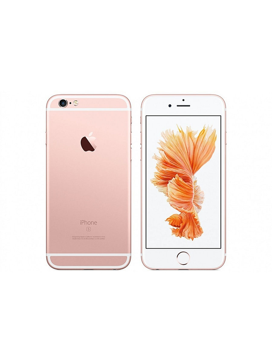 Смартфоны Apple Смартфон MKU52RU/A iPhone 6s Plus 16Gb розовый