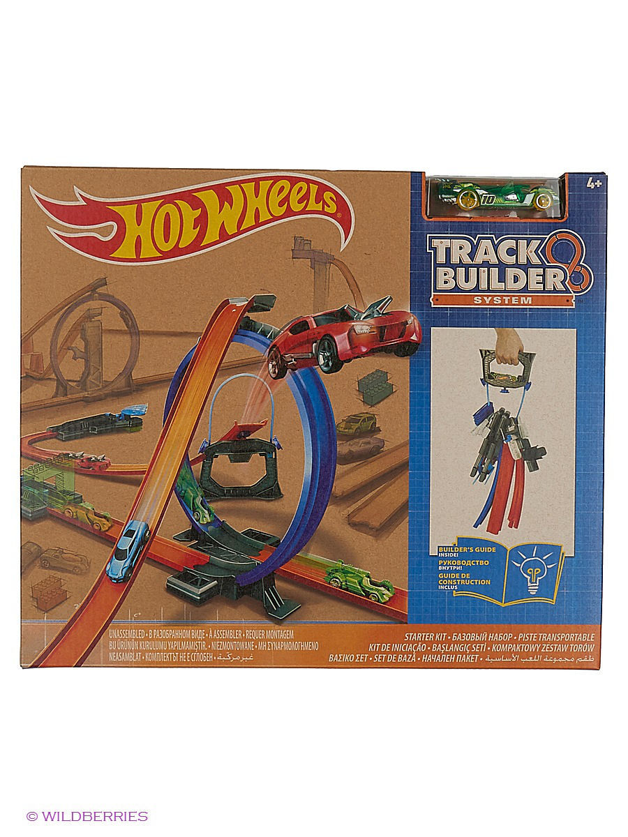 Конструкторы Hot Wheels