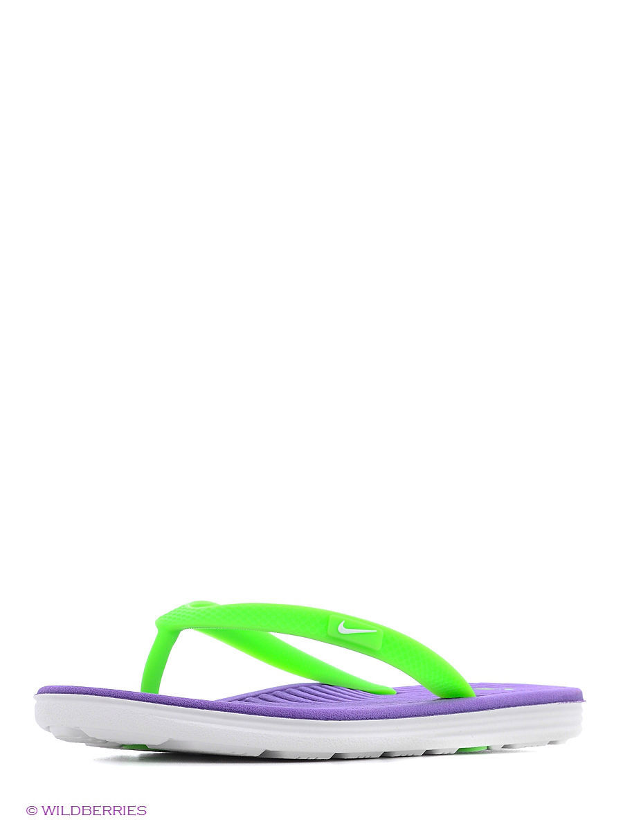 Шлепанцы Girls' Flip-Flop Solarsoft 2 (GS/PS) Nike 555624-503