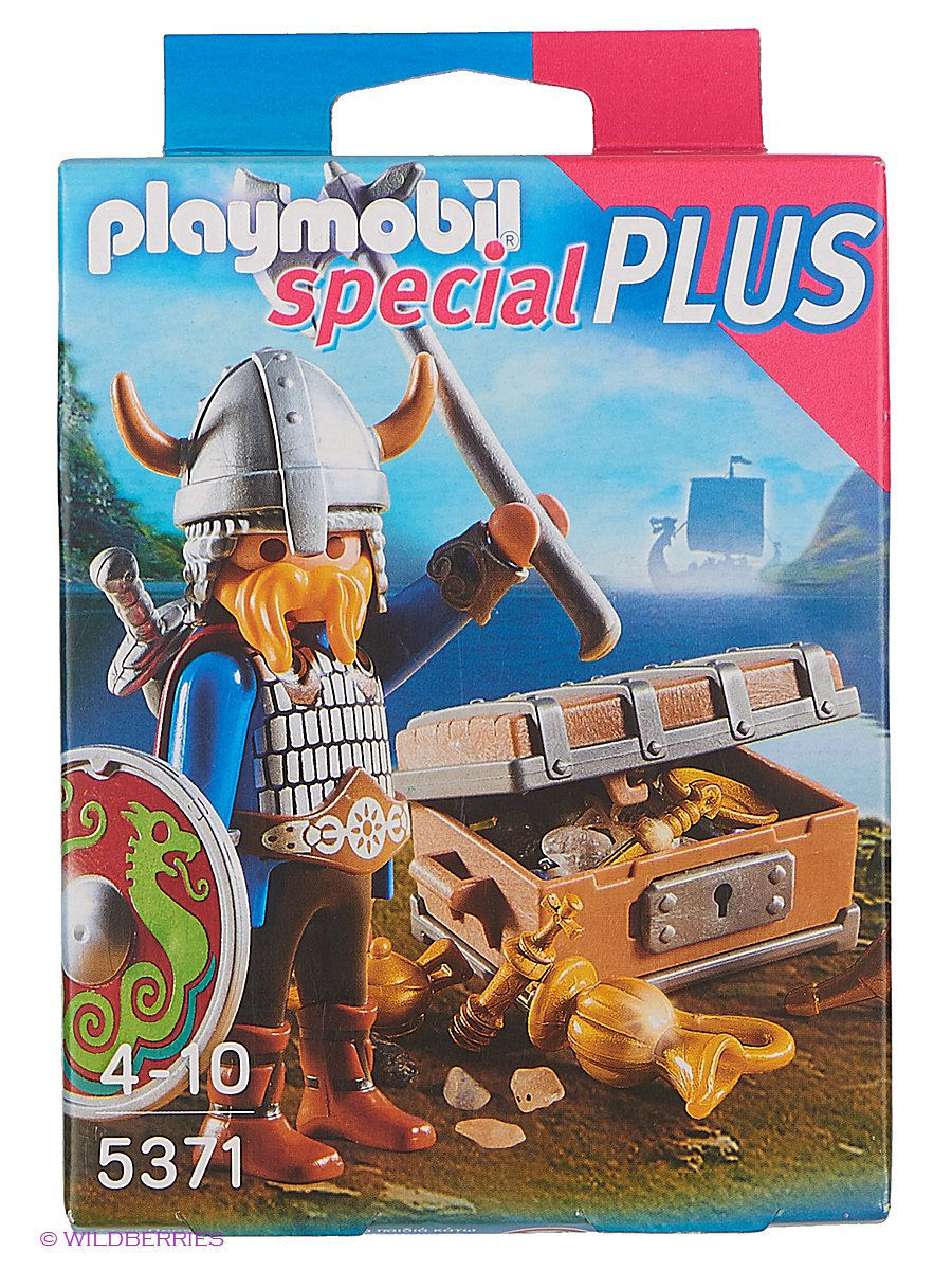 Игровые наборы Playmobil Экстра-набор: Викинг с сокровищами free shipping 100% tested 583079 001 for hp 4410s 4510s laptop motherboard with for intel gm45 chipset ddr3