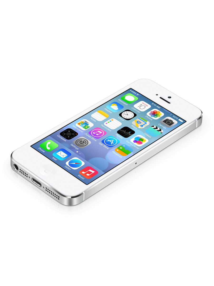 Смартфон Apple ME433RU/A iPhone 5s 16Gb серебристый