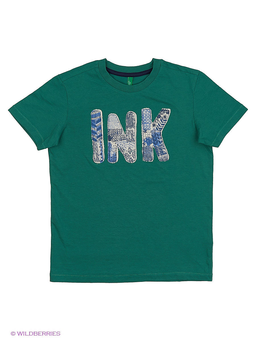 Футболка United Colors of Benetton (Юнайтед Колорс оф Бенеттон) 3QT6C12RF/22L