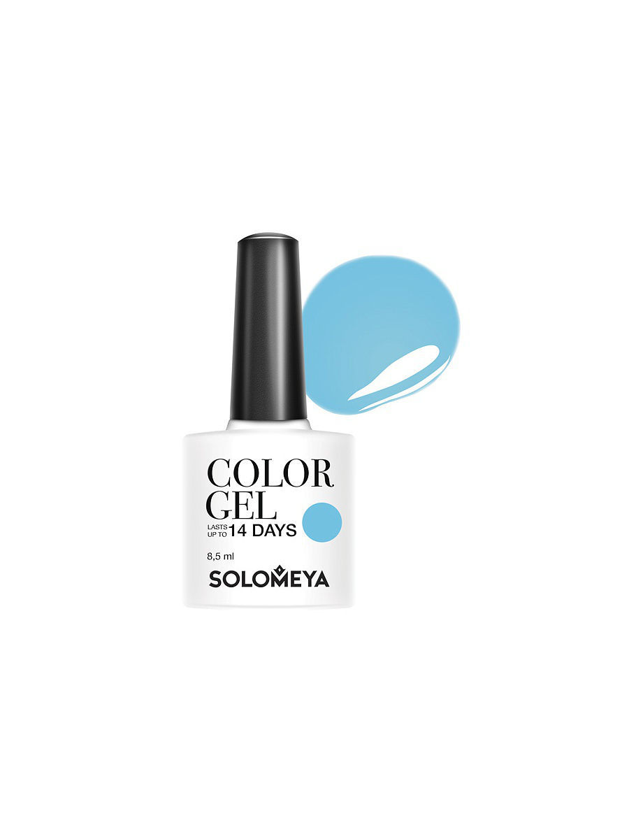 Гель-лаки SOLOMEYA Гель-лак Color Gel Тон Pillbox SCG010/Пилбокс
