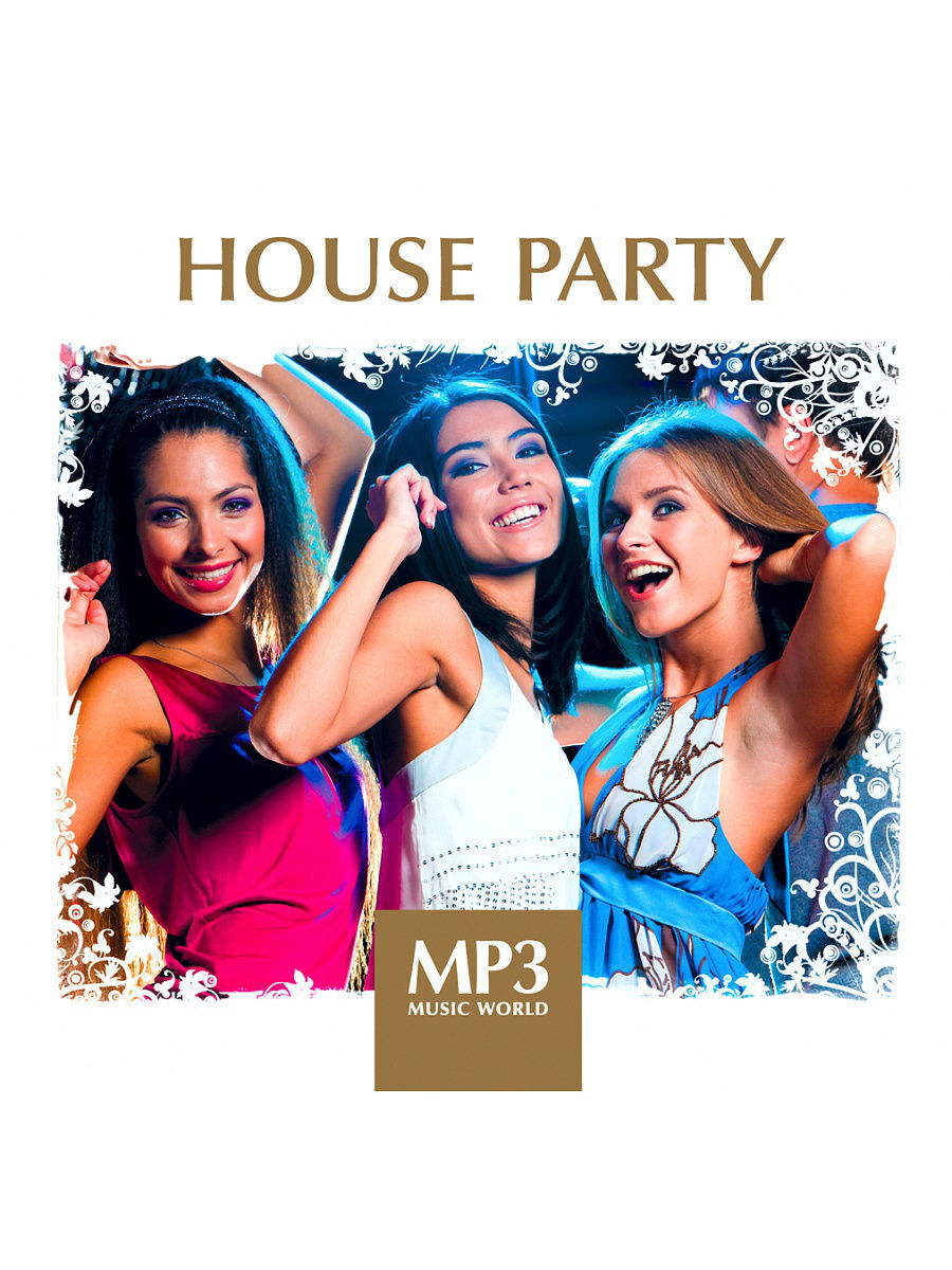 Музыкальные диски RMG MP3 Music World. House Party (компакт-диск MP3) mp3 music world ibiza lounge компакт диск mp3