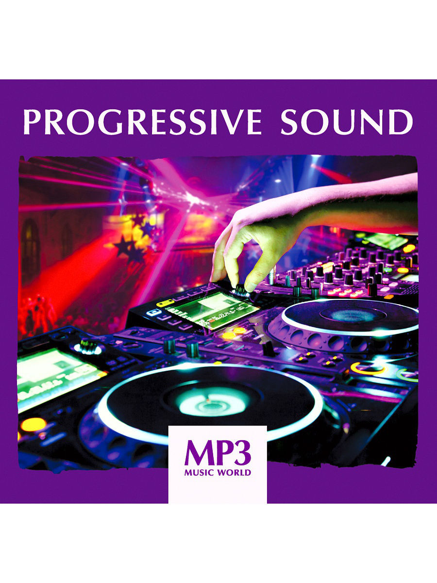 Музыкальные диски RMG MP3 Music World. Progressive Sound (компакт-диск MP3) музыкальные диски rmg mp3 music world classical nature компакт диск mp3