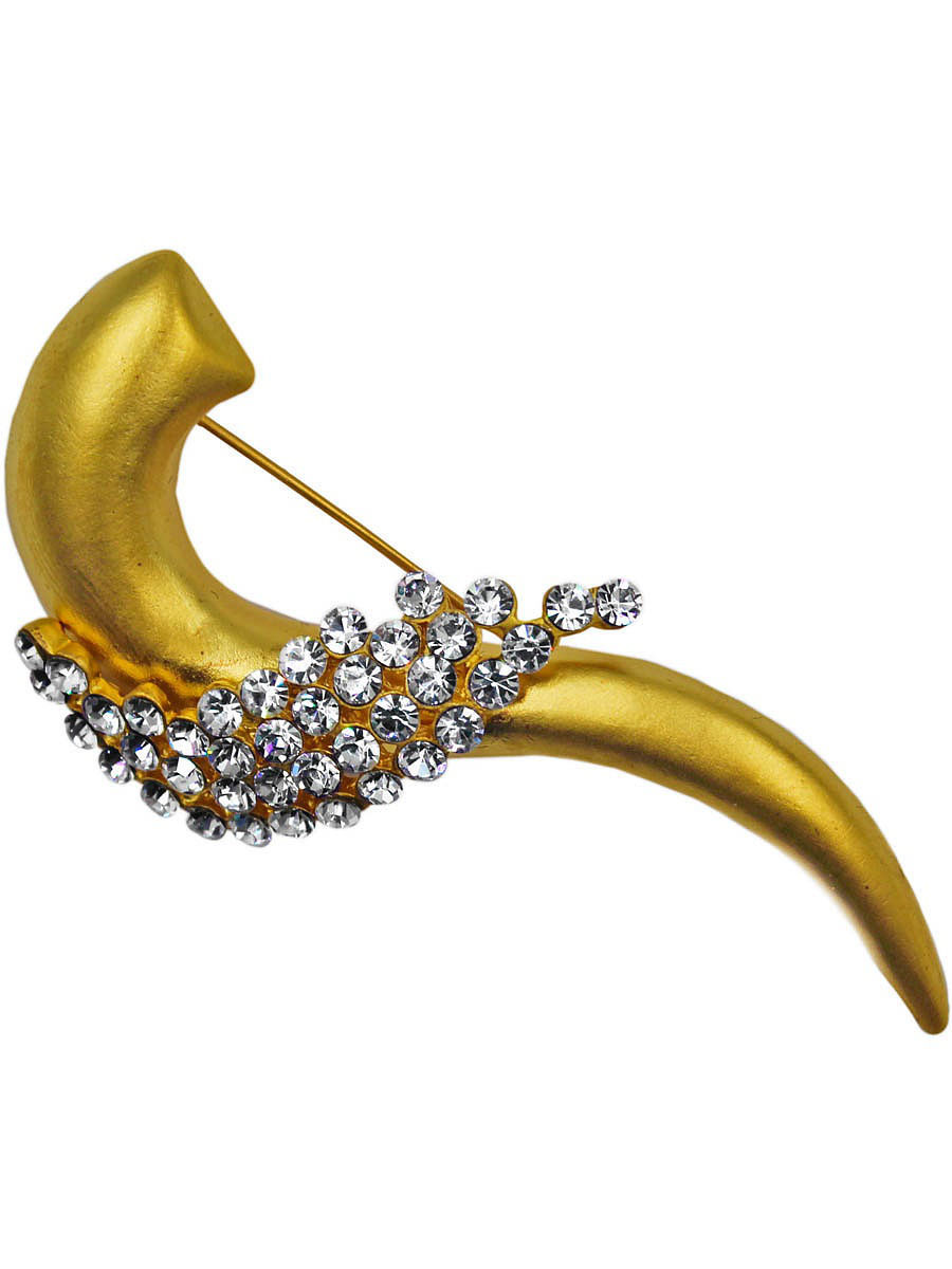 Брошь Taya T-B-11571-BROOCH-GOLD