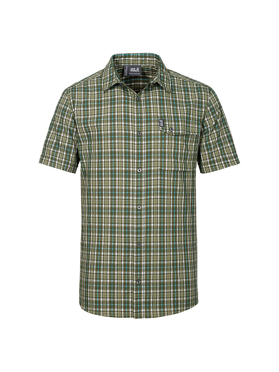 Рубашка CROSSLEY SHORTSLEEVE SHIRT M Jack Wolfskin 1401891/7531