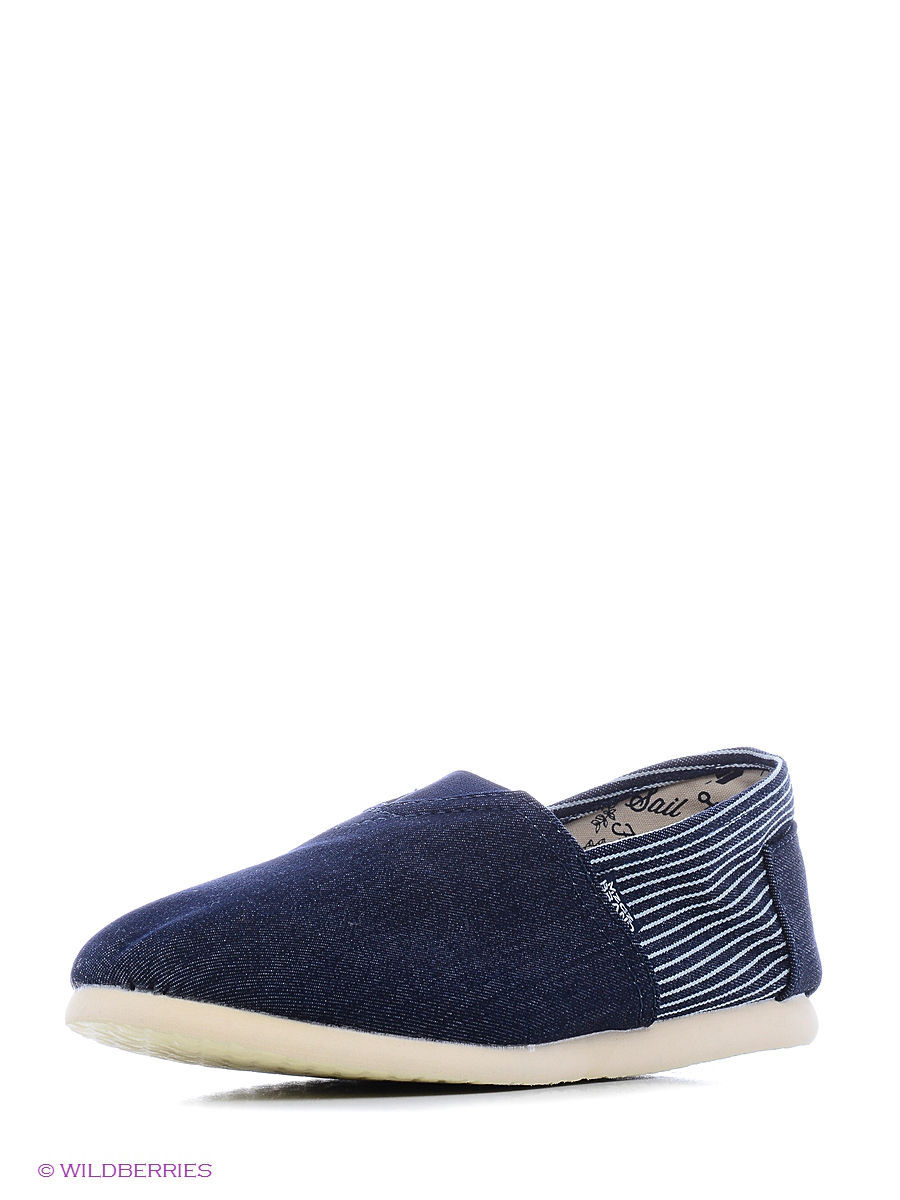 Слипоны MeZaGuz Shoes-Boat/DENIMBLUE