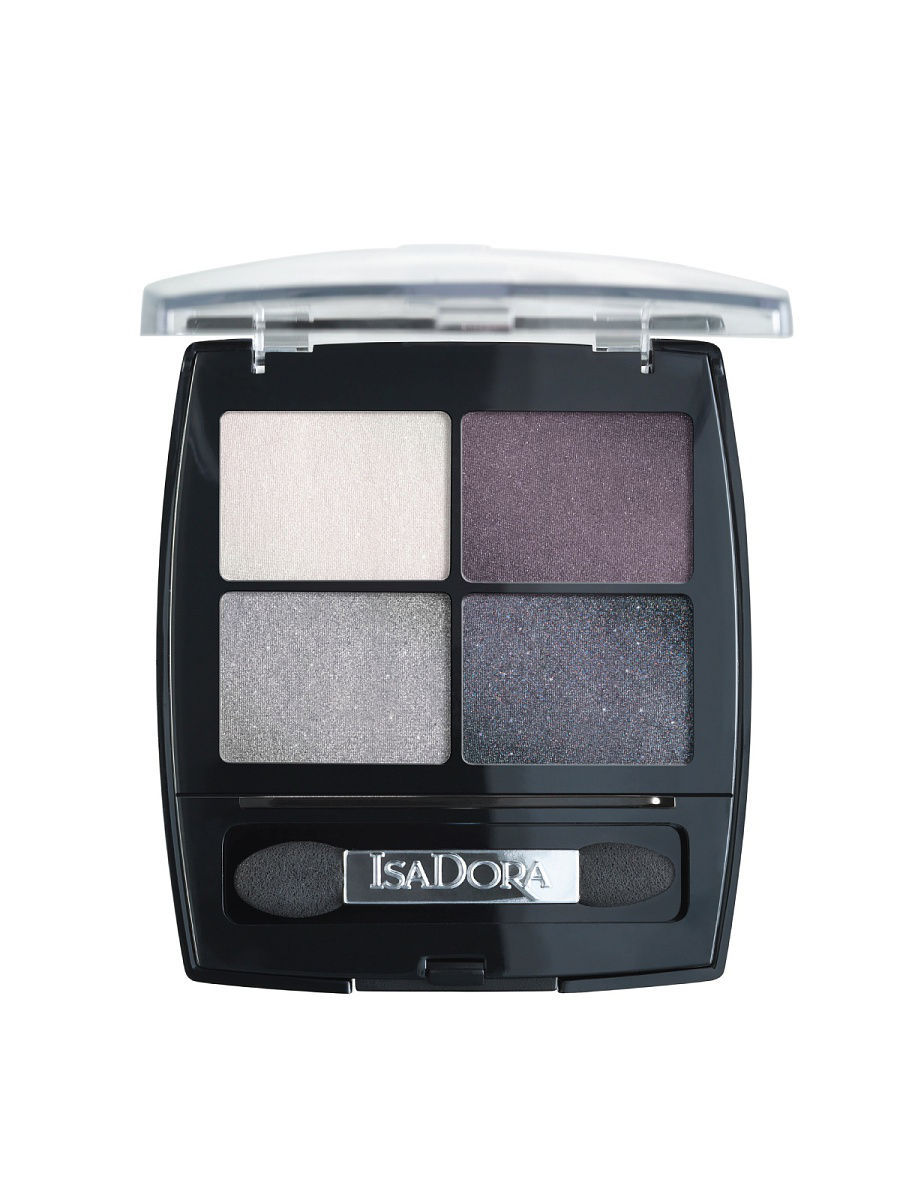 Тени ISADORA Тени для век Eye Shadow Quartet 37 5 г тени для век isadora eye shadow quartet 03 цвет 03 urban green variant hex name a19388