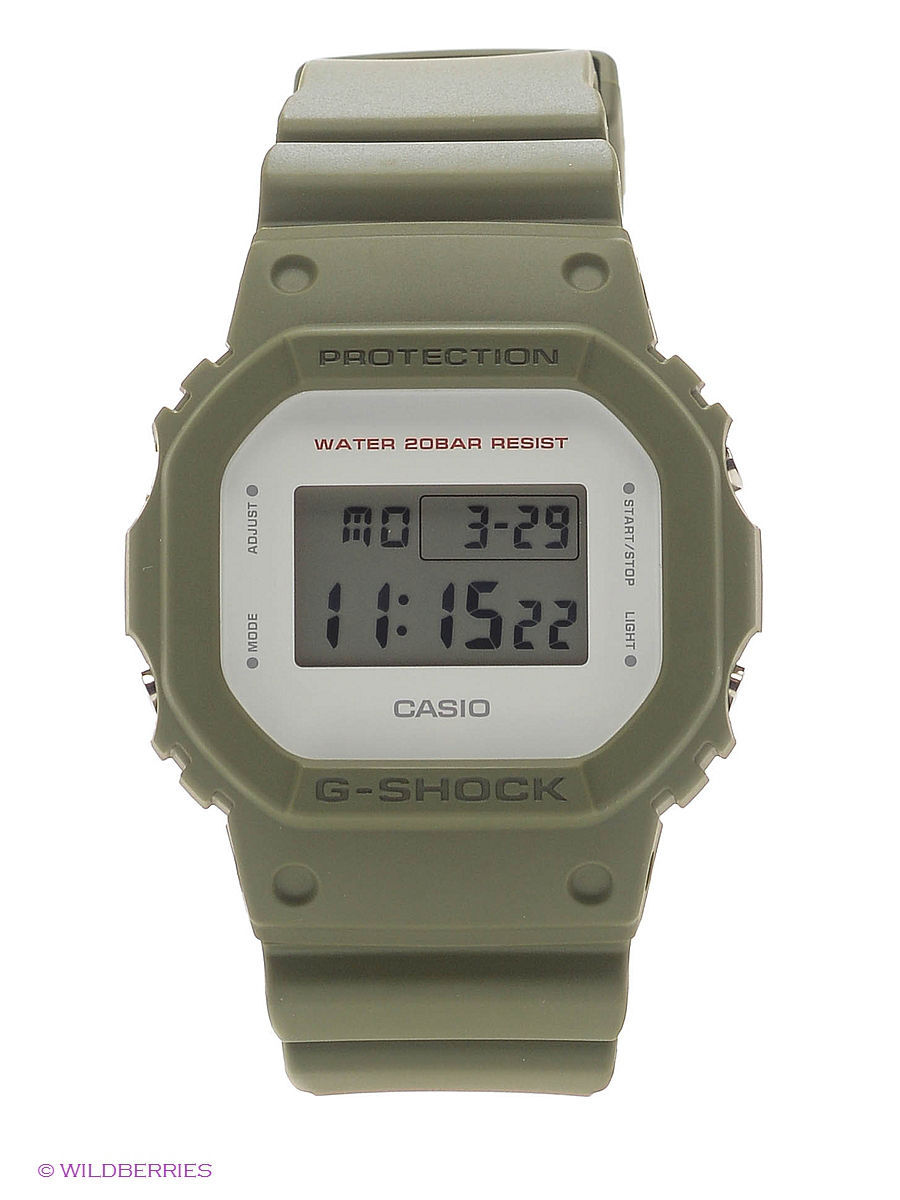 Часы наручные CASIO Часы G-Shock DW-5600M-3E casio g shock 5600