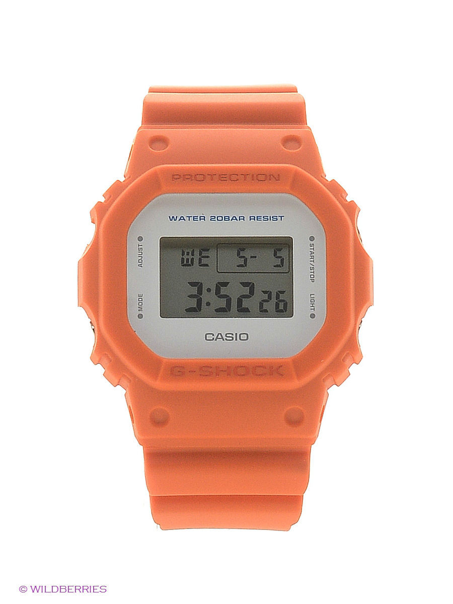 Часы наручные CASIO Часы G-Shock DW-5600M-4E casio g shock 5600