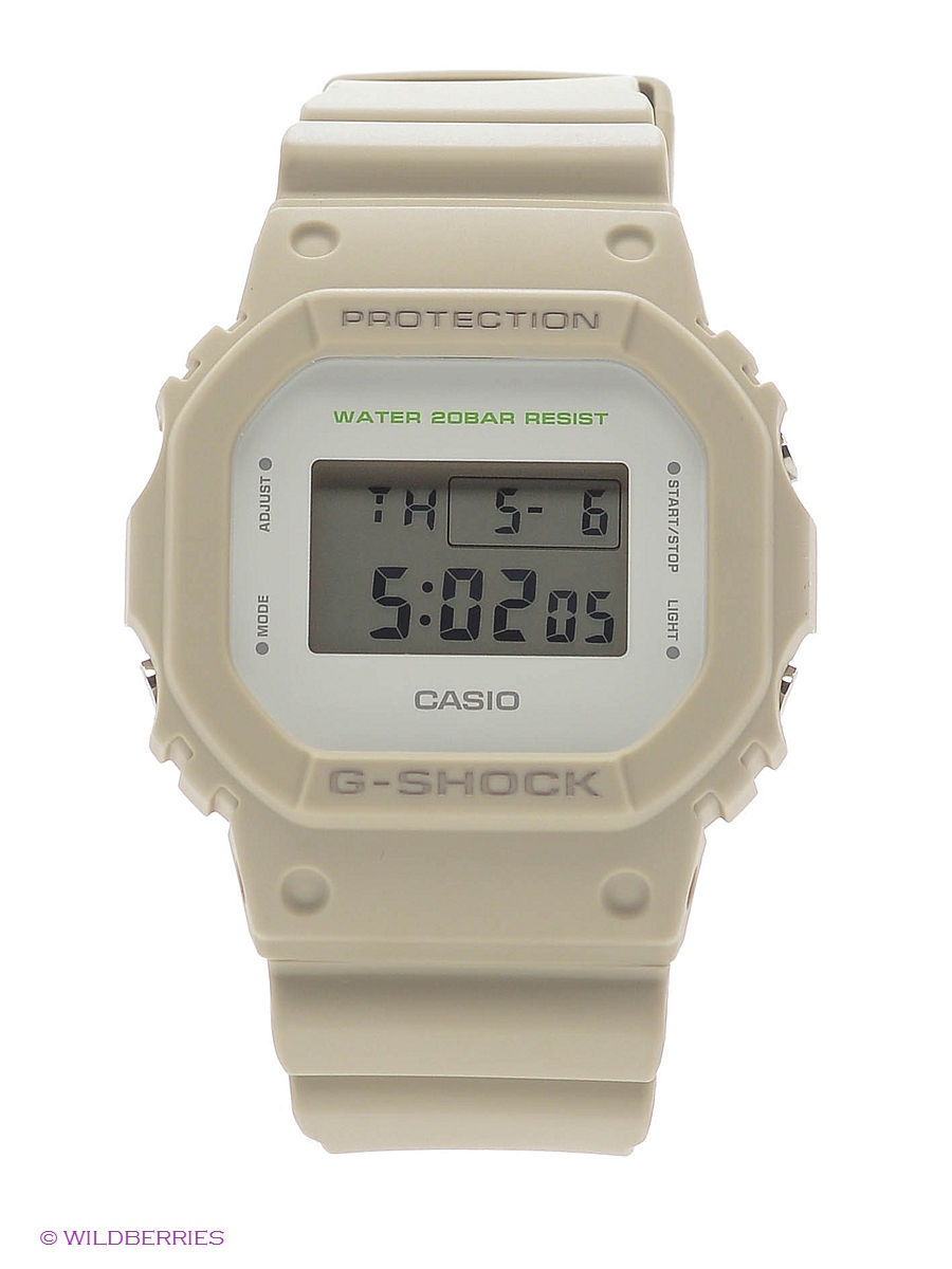 Часы наручные CASIO Часы G-Shock DW-5600M-8E casio g shock 5600