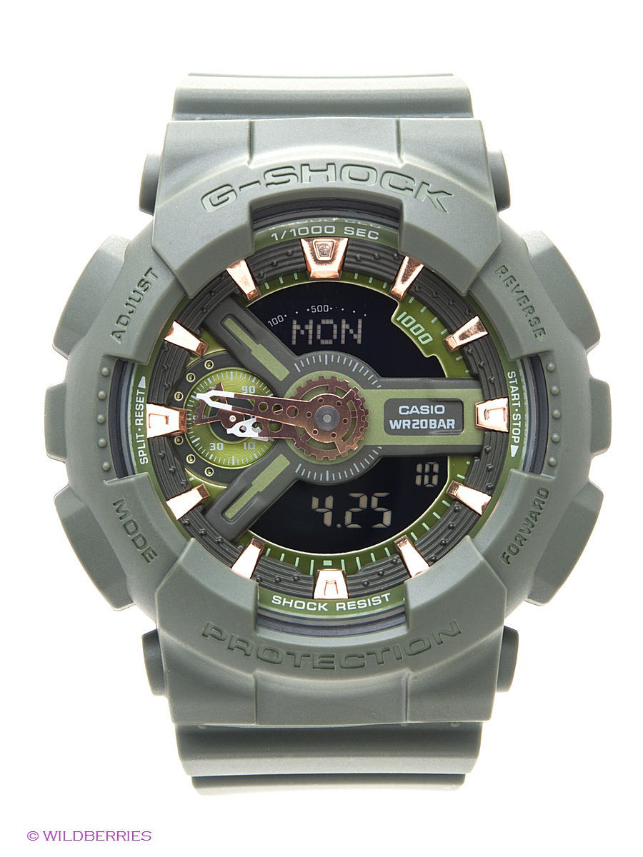 Часы наручные CASIO Часы G-Shock GMA-S110CM-3A помада для губ maybelline new york maybelline new york ma010lwivq18