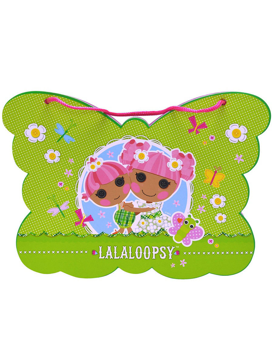 Блокнот с замком ACTION!, Lalaloopsy