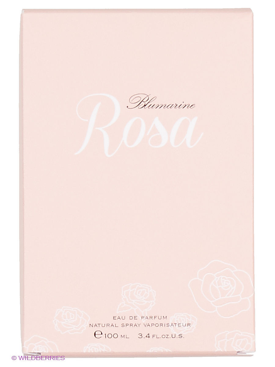 Парфюмерная вода Rosa EDP 100 ML NATURAL SPRAY BLUMARINE BLM40K003