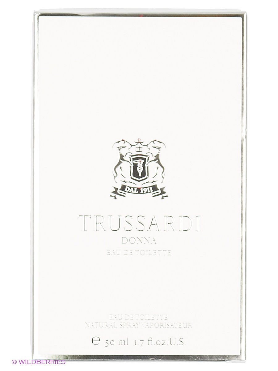 Туалетная вода Donna EDT 50 ML NATURAL SPRAY Trussardi TRU80N001