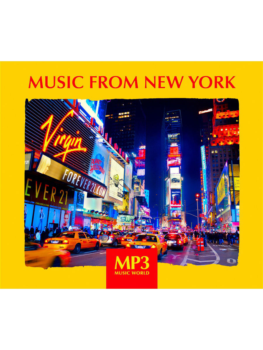 Музыкальные диски RMG MP3 Music World. Music From New York from the new world vol 3