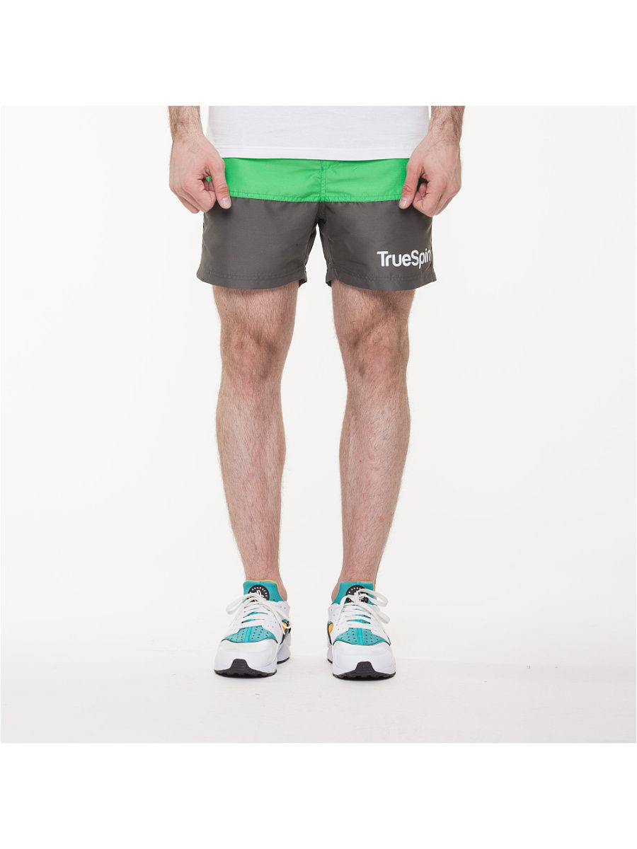 Шорты TRUESPIN Core Shorts True Spin TS-CORE-16/Green/Grey