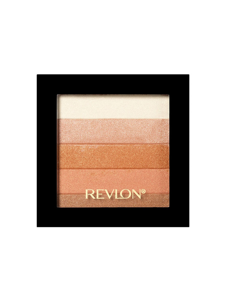Хайлайтеры Revlon Палетка хайлайтеров для лица Highlighting Palette, Bronze glow 030 палетка хайлайтеров face sculptor strobing 20 18гр