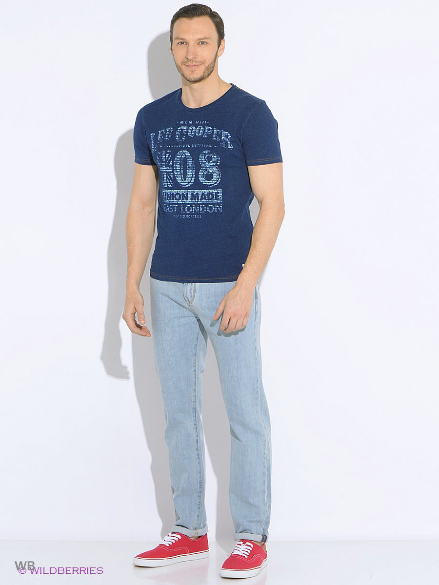 Футболка LEE COOPER LCHMJ088/DKDENIM