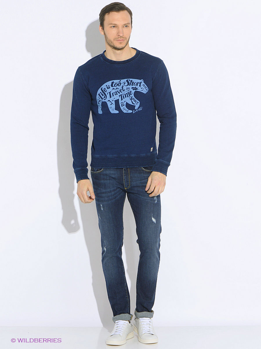Толстовка Lee Cooper LCHMJ096/DKDENIM