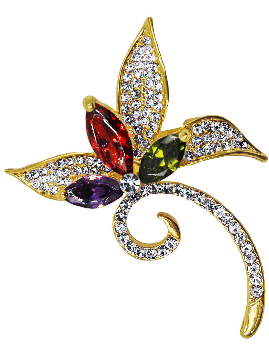 Брошь Taya T-B-11567-BROOCH-MULTI