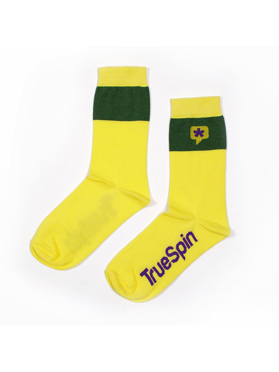 Носки True Spin TS-SOCAS16/Yellow