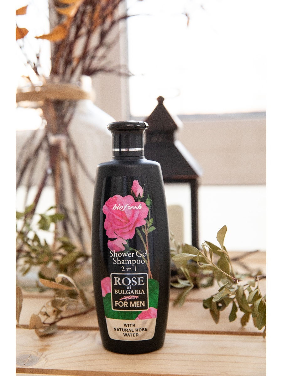 "���� ��� ����-������� ��� ������ 2 � 1 ""Rose of Bulgaria for men"" Biofresh 62866"