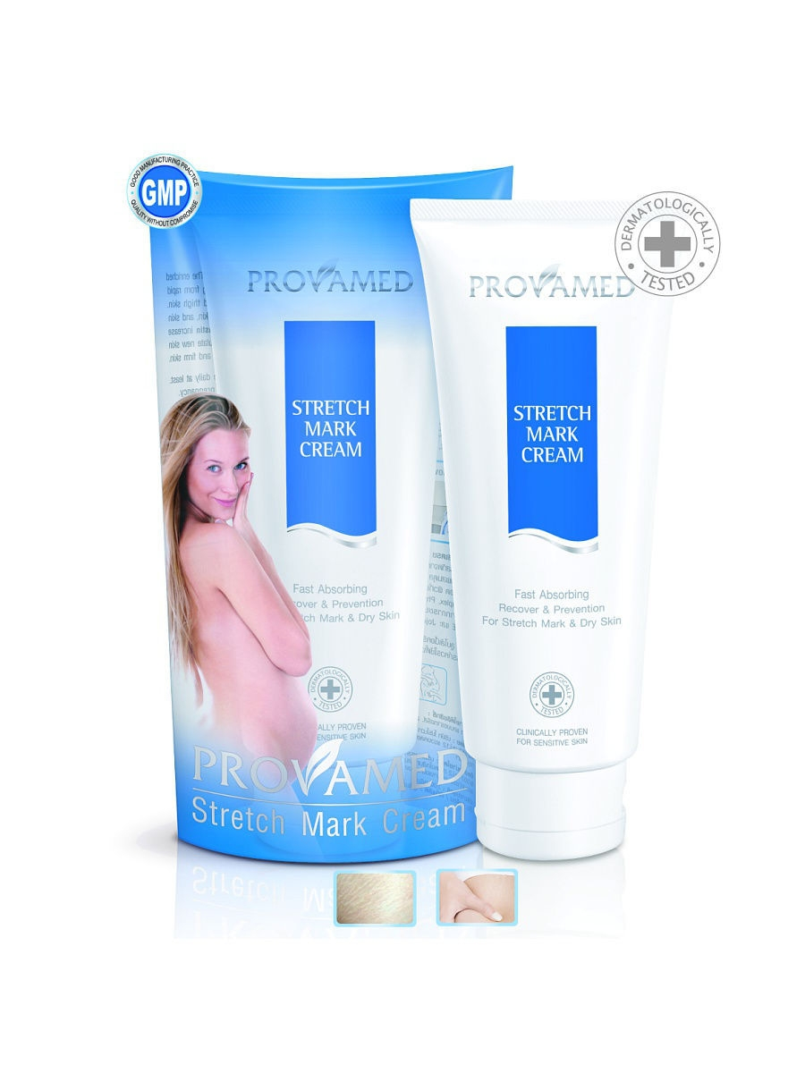 Кремы Provamed Крем от растяжек Provamed STRETCH MARK CREAM, 200 мл. stretch mark cream