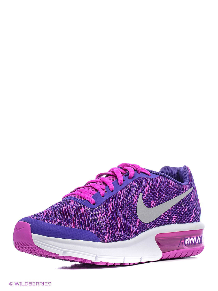 Кроссовки AIR MAX SEQUENT PRINT (GS) Nike 820330-500