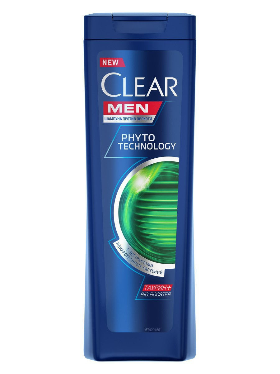 Шампунь Clear Men Phytotechnology 200 мл