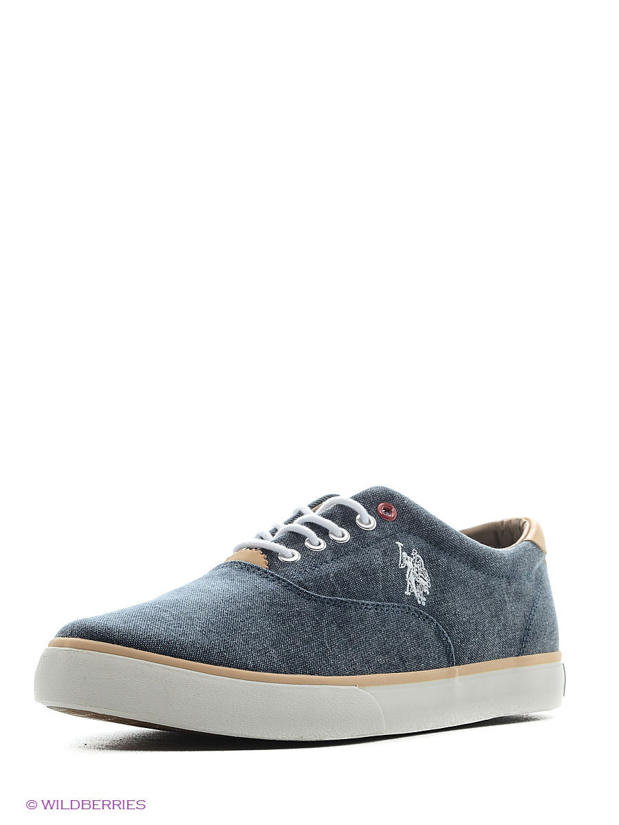 Мужские кеды U.S. Polo Assn. S081SZ033ITLYY6DALAN7CANVAS/200