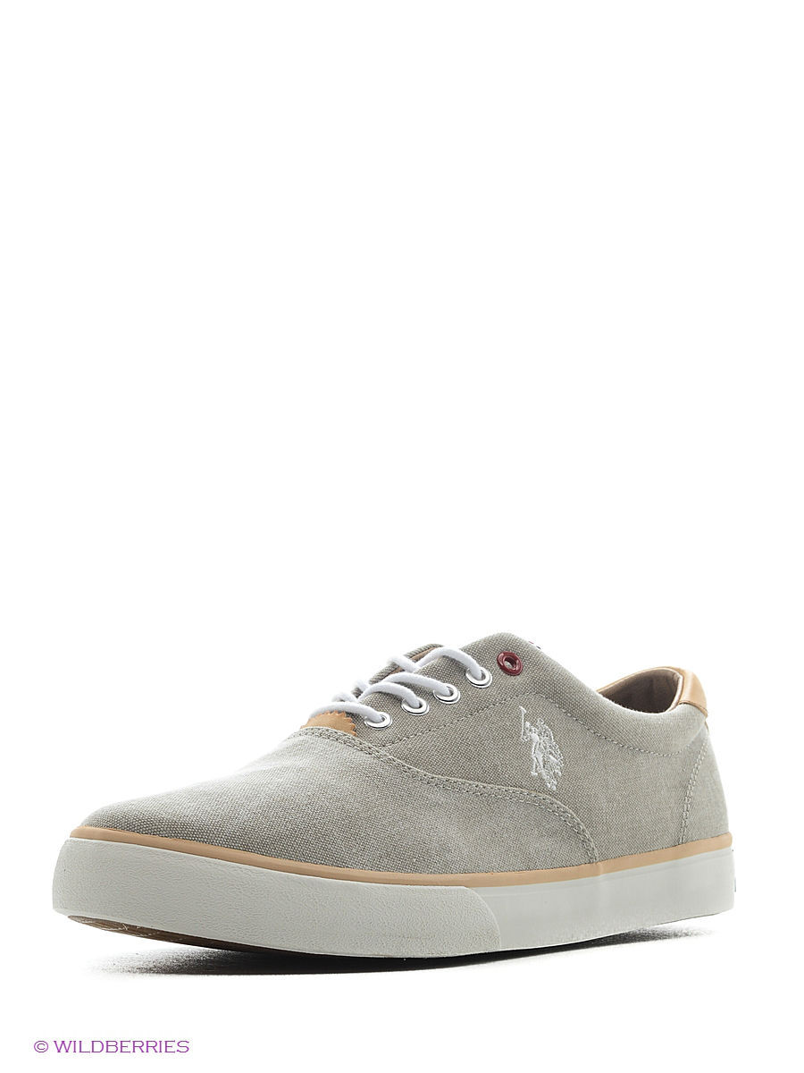 Мужские кеды U.S. Polo Assn. S081SZ033ITLYY6DALAN7CANVAS/591