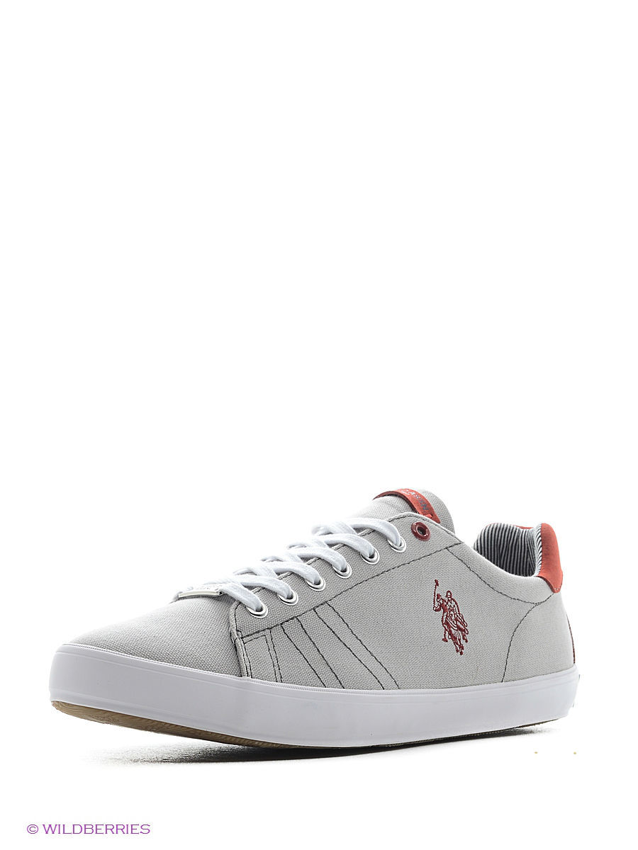 Мужские кеды U.S. Polo Assn. S081SZ033ITLYY6LARKINCANVAS/100