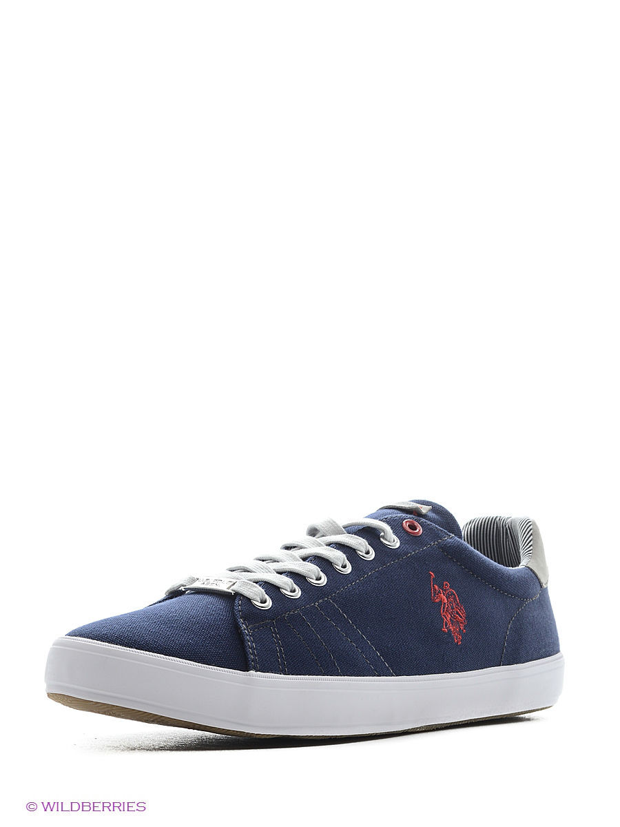 Мужские кеды U.S. Polo Assn. S081SZ033ITLYY6LARKINCANVAS/200