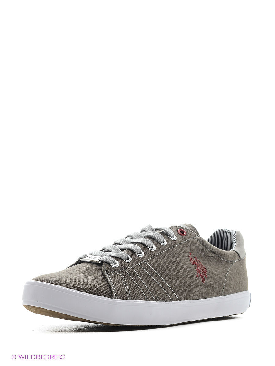 Мужские кеды U.S. Polo Assn. S081SZ033ITLYY6LARKINCANVAS/790