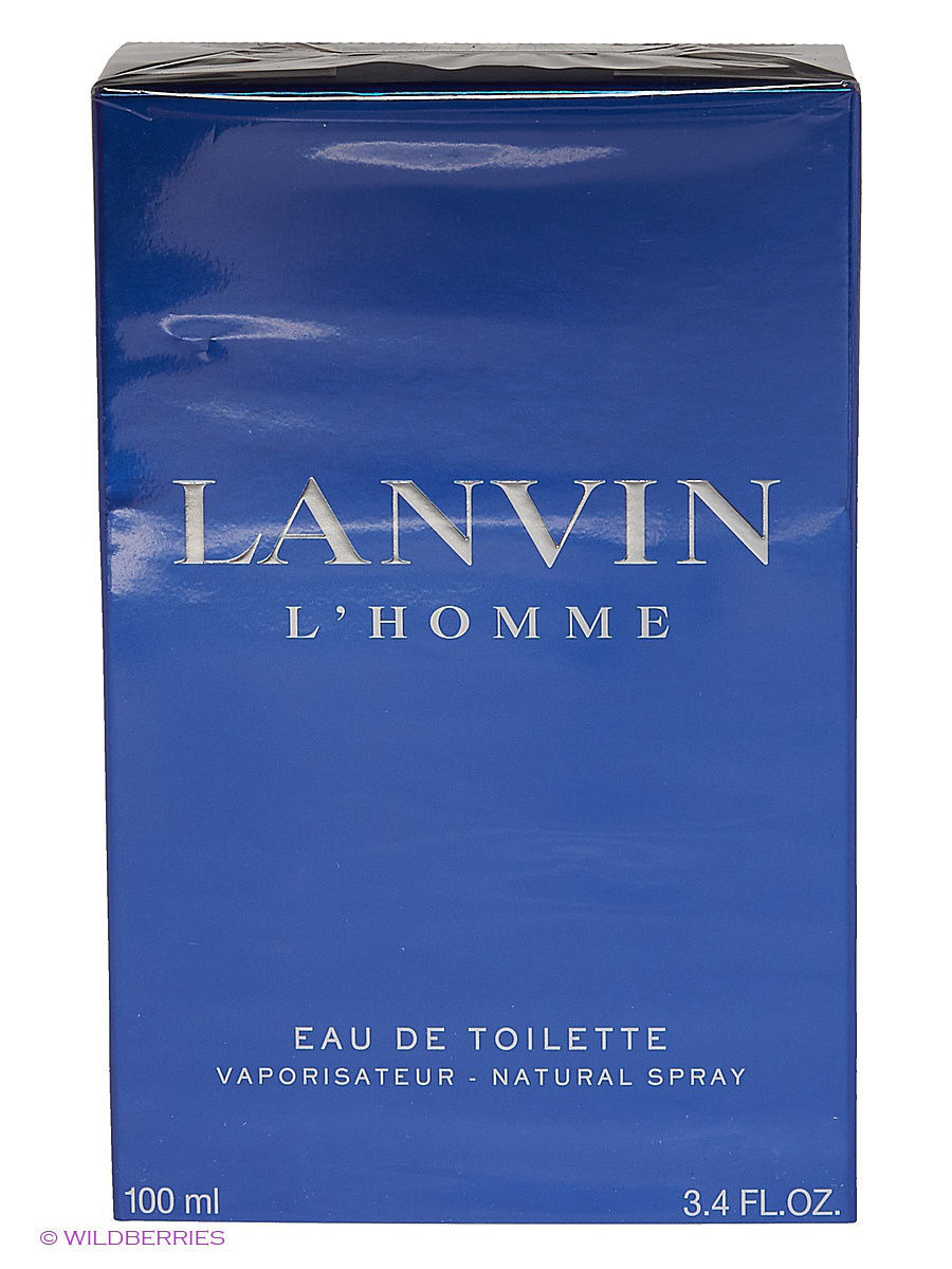 Туалетная вода Lanvin L Homme EDT 100ML SPRAY LNV305618