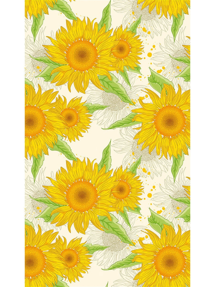 Скатерти DUNI Скатерть D/S+ 138X220 см SUNFLOWER SPL скатерти duni скатерть d s 138x220 см sunflower spl