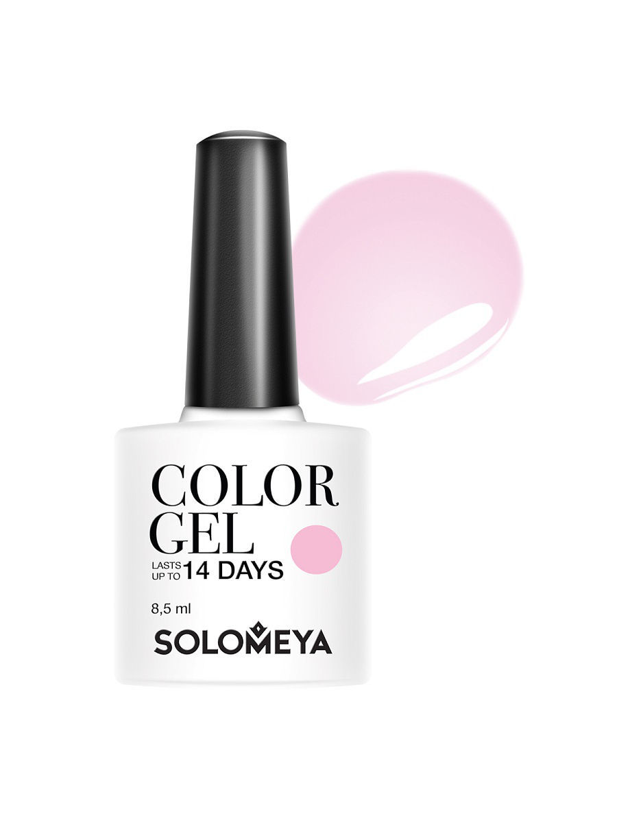 Гель-лаки SOLOMEYA Гель-лак Color Gel Charlene SCGK032/Шарлин