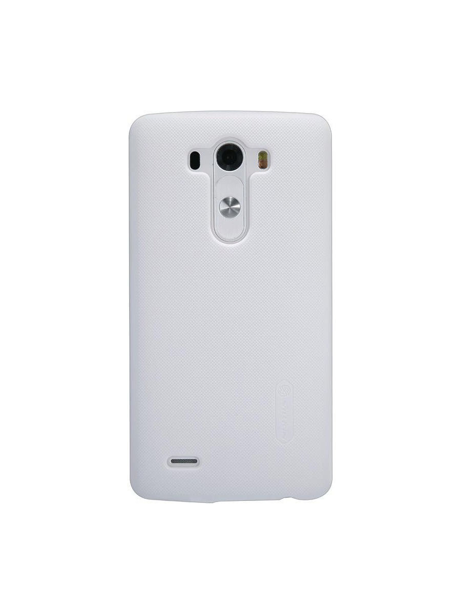 Чехлы для телефонов Nillkin Накладка для LG G3 (D855) Super Frosted Shield цена и фото
