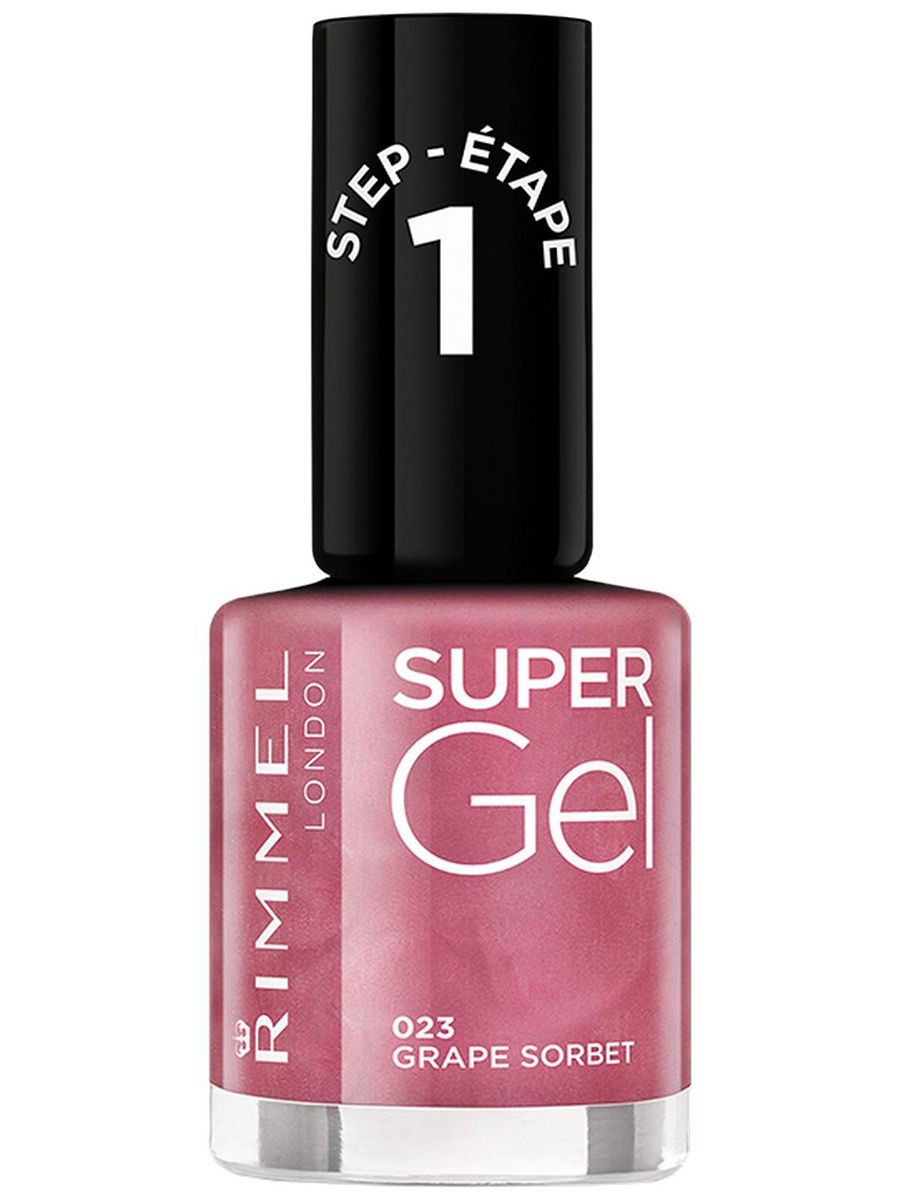 Гель-лаки Rimmel Гель-лак для ногтей Super Gel Nail polish, тон 023 12 мл rimmel гель лак для ногтей super gel nail polish тон 023 12 мл