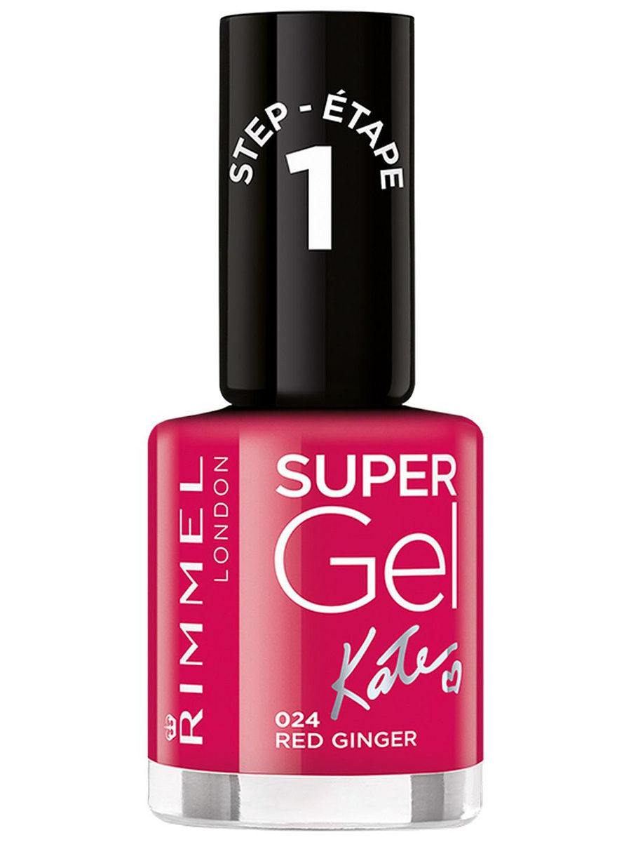 Гель-лаки Rimmel Гель-лак для ногтей Super Gel Kate nail polish ,тон 024 12 мл rimmel гель лак для ногтей super gel nail polish тон 023 12 мл