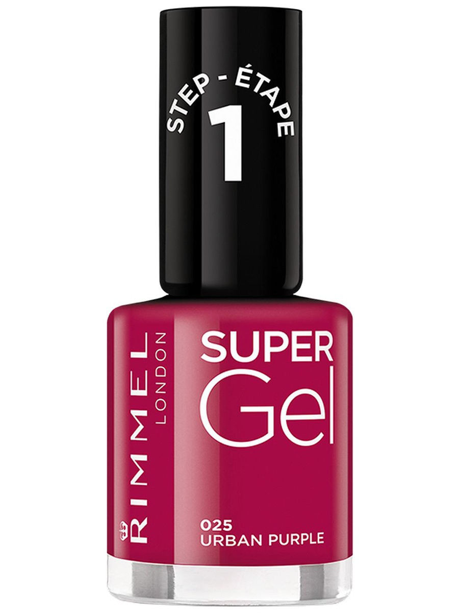 Гель-лаки Rimmel Гель-лак для ногтей Super Gel Nail polish, тон 025 12 мл rimmel гель лак для ногтей super gel nail polish тон 023 12 мл
