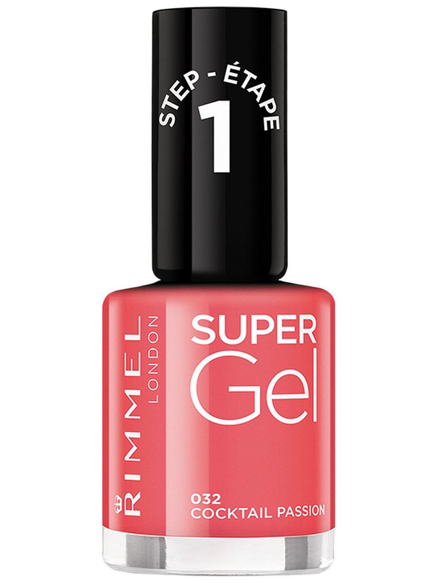 Гель-лаки Rimmel Гель-лак для ногтей Super Gel Nail polish, тон 032 12 мл rimmel гель лак для ногтей super gel nail polish тон 023 12 мл