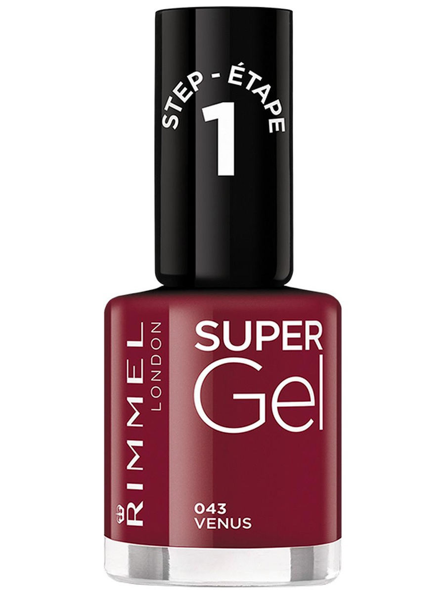 Гель-лаки Rimmel Гель-лак для ногтей Super Gel Nail polish, тон 043 12 мл rimmel гель лак для ногтей super gel nail polish тон 023 12 мл