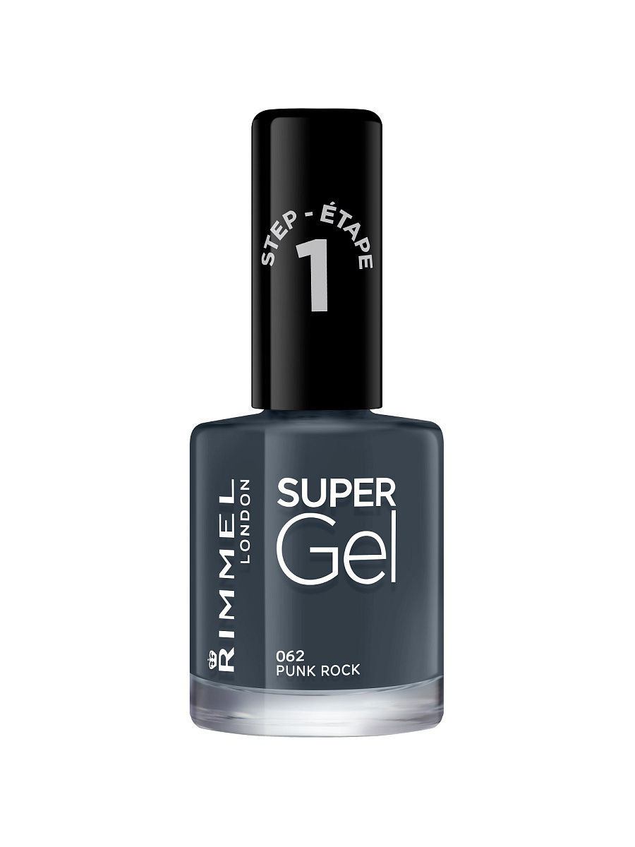 Гель-лаки Rimmel Гель-лак для ногтей Super Gel Nail polish, тон 062 12 мл rimmel гель лак для ногтей super gel nail polish тон 023 12 мл
