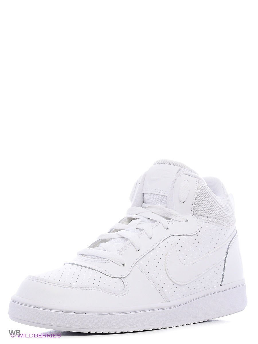 Сникеры Nike Сникеры NIKE COURT BOROUGH MID (GS) nike court borough mid nike