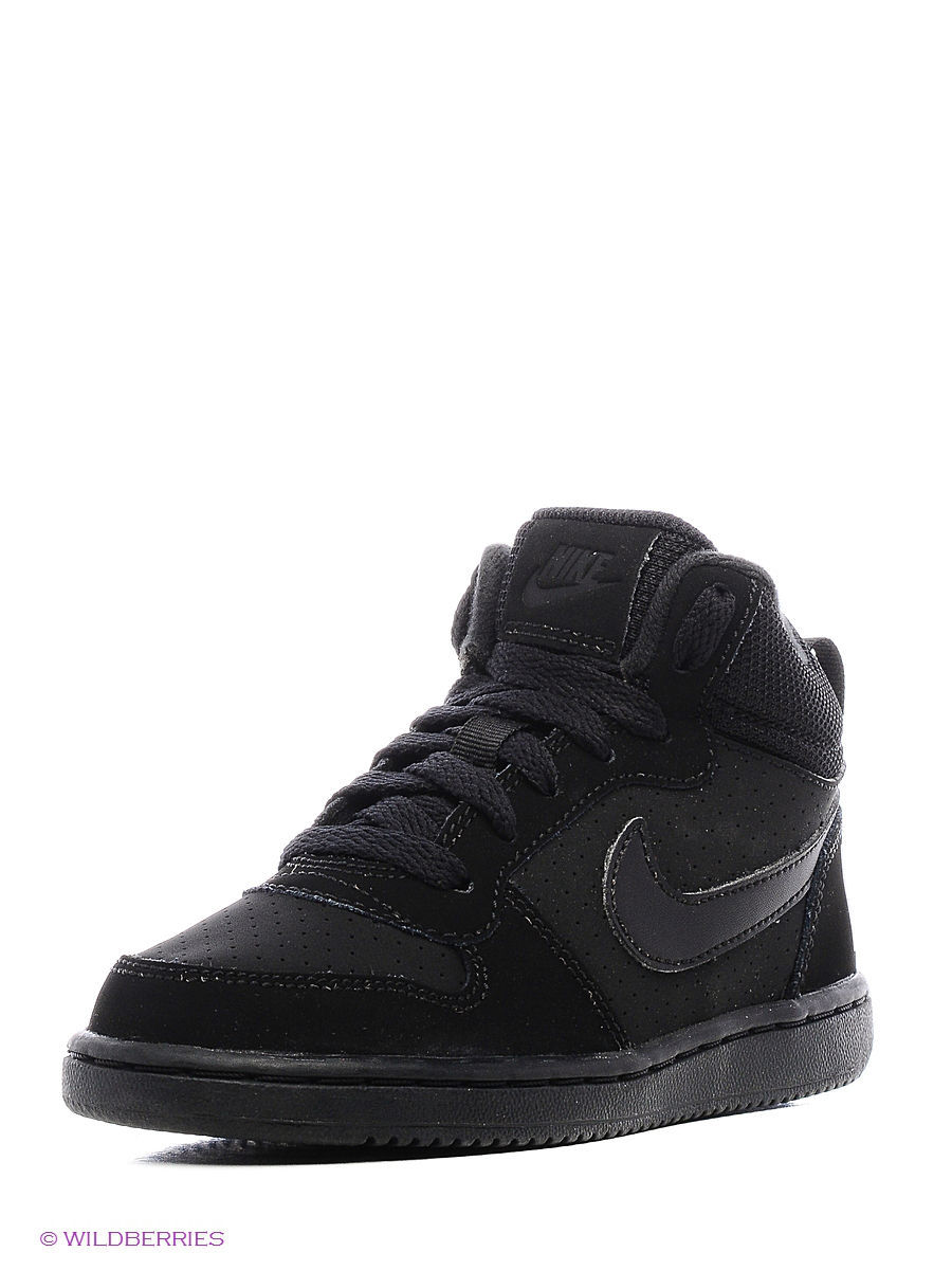 Кеды NIKE COURT BOROUGH MID (PS) 839978-001