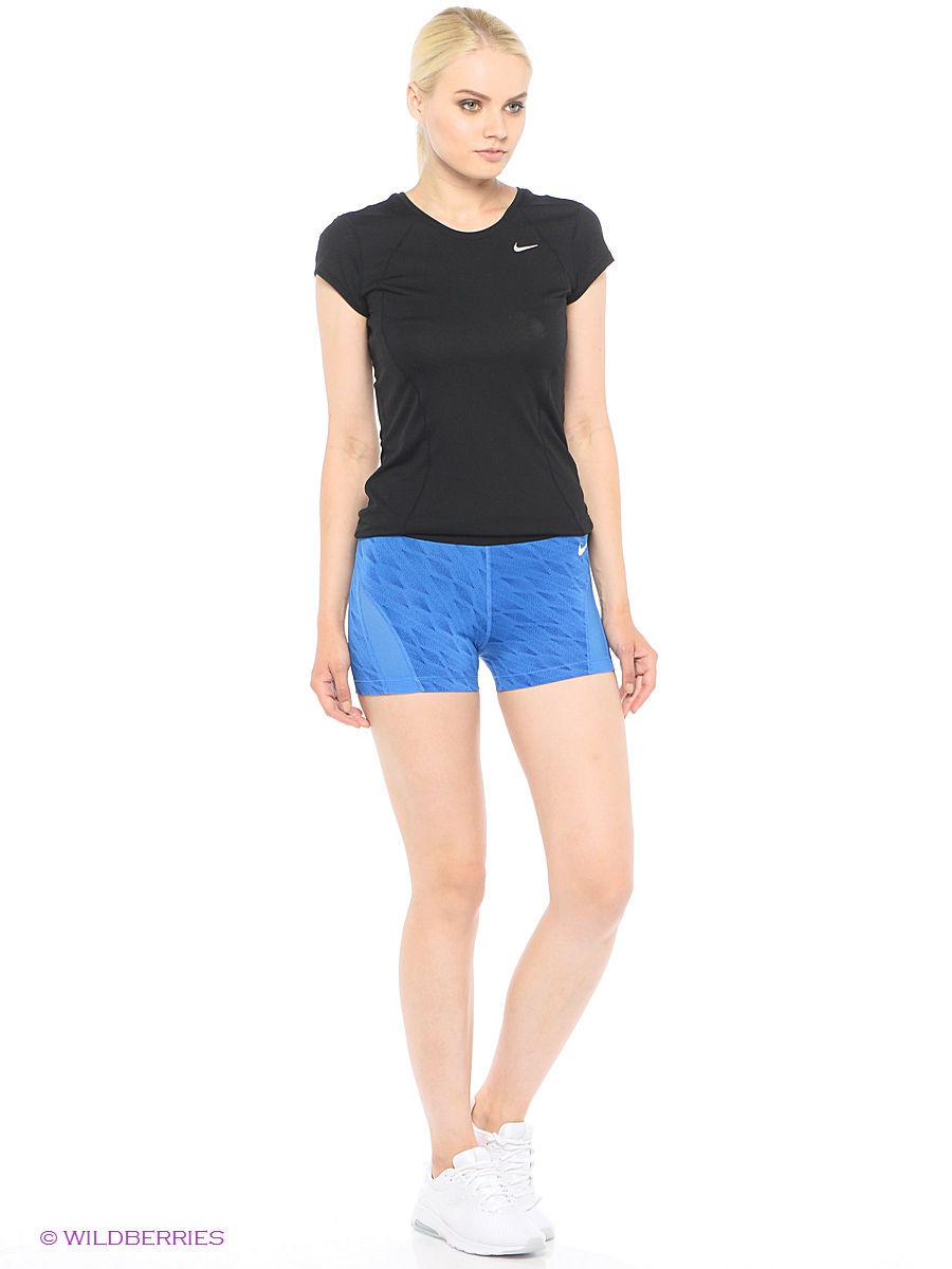 Шорты W NP HPRCL SHORT 3IN CASCADE Nike 803376-435