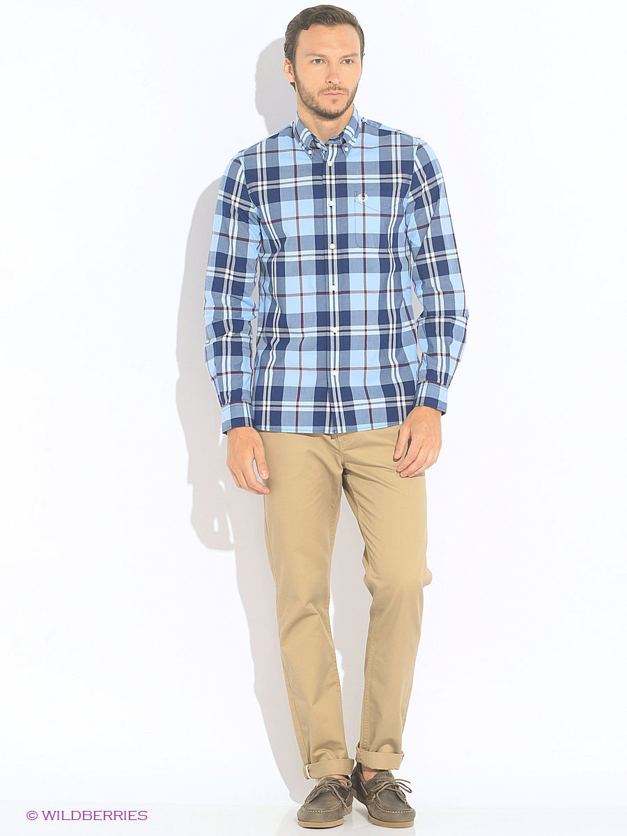 Рубашки Fred Perry Рубашка рубашка в клетку женская fred perry gingham boxy shirt red black
